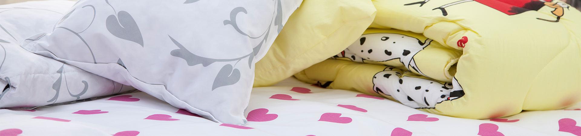 Vaikų antklodės ir pagalvės