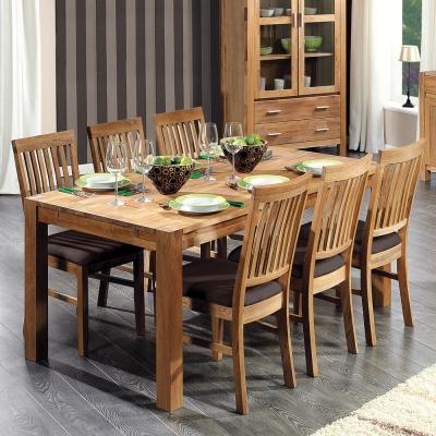 Stalai su 6 kėdėm