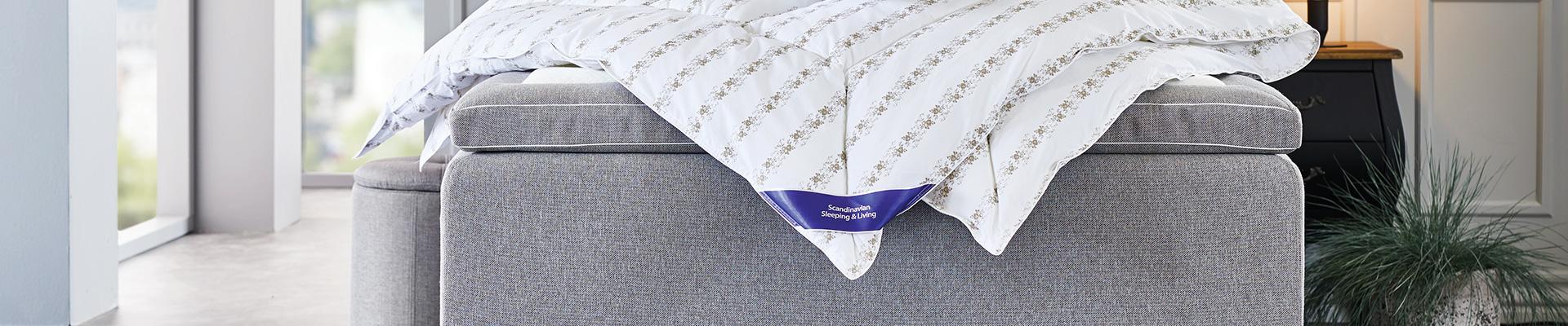 Antklodės ir pagalvės