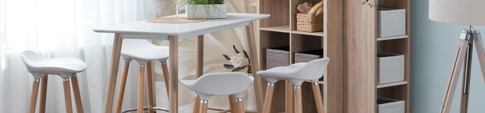 Stalai su 4 kėdėm
