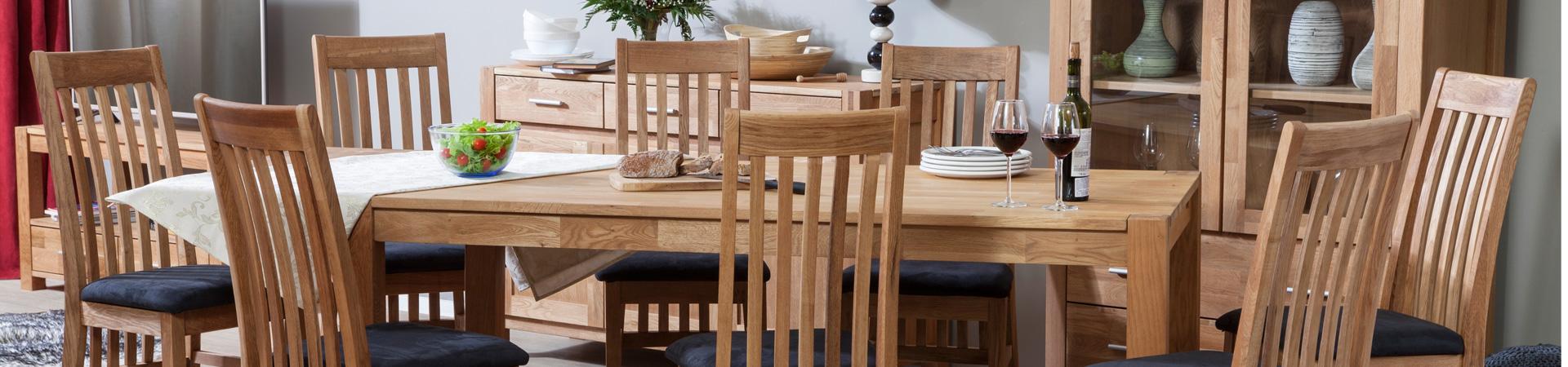 Stalai su 8 kėdėm