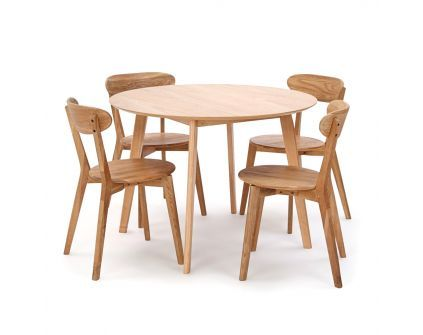 Stalas MANTTA + kėdės GJERN