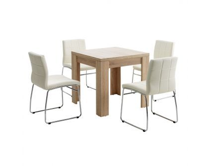 Pietų baldų komplektas HALLUND +HAMMEL 4