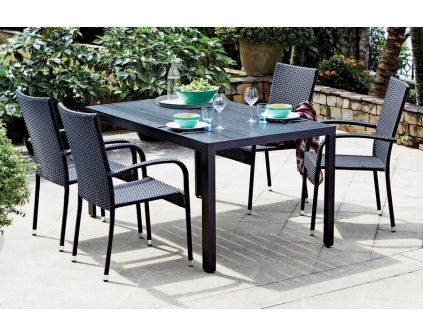 Sodo baldų komplektas su stalu JERSORE+PALERMO