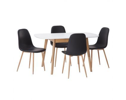 Pietų baldų komplektas MILLA + JONSTRUP 4