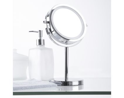 veidrodis su LED lemputėmis STORD
