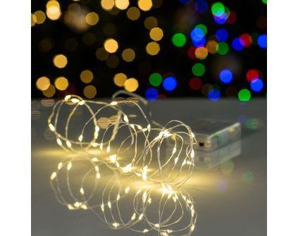 40 LED lempučių girlianda NORA