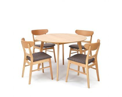 Stalas MANTTA + kėdės HAMINA