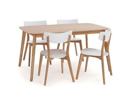 Stalas HAMINA SMALL + kėdės CLAIRE